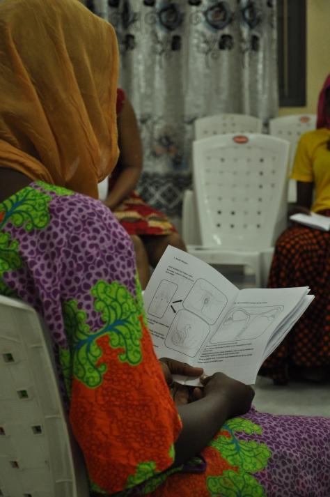 Tanzania - fieldwork 2017 (Menstrual Health Management workshop)